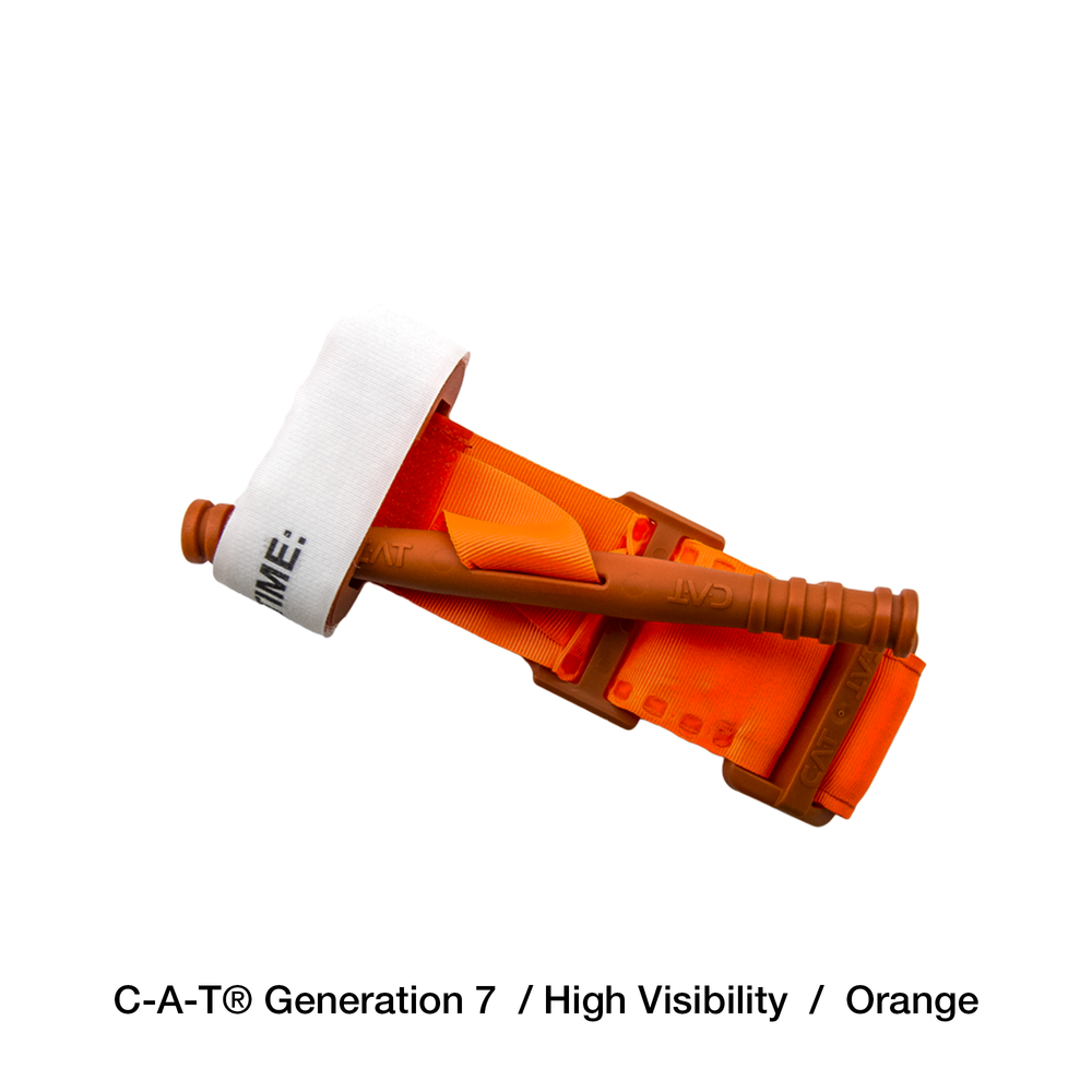 C-A-T® tourniquet orange