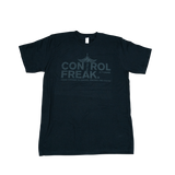 "CTOMS ""Control Freak"" Classic T-Shirt-Black"