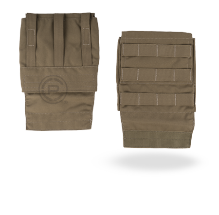 "Crye AVS™ 6""x 6"" Side Armor Carrier Set coyote brown"