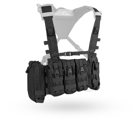 Crye AVS™ Detachable Chest Rig black