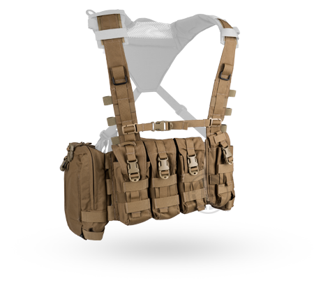 Crye AVS™ Detachable Chest Rig coyote brown