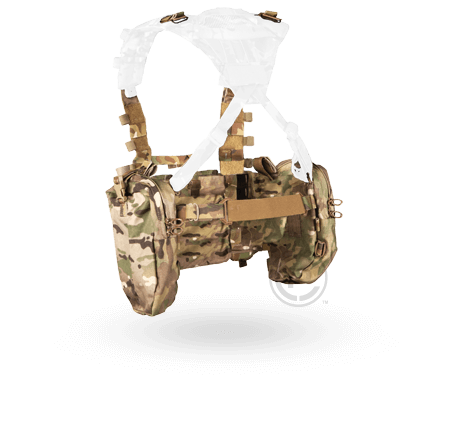 Crye AVS™ Detachable Chest Rig multicam