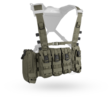 Crye AVS™ Detachable Chest Rig ranger green