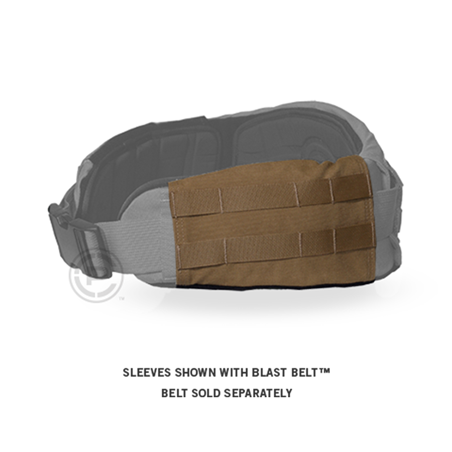 Crye Belt Side Sleeves info