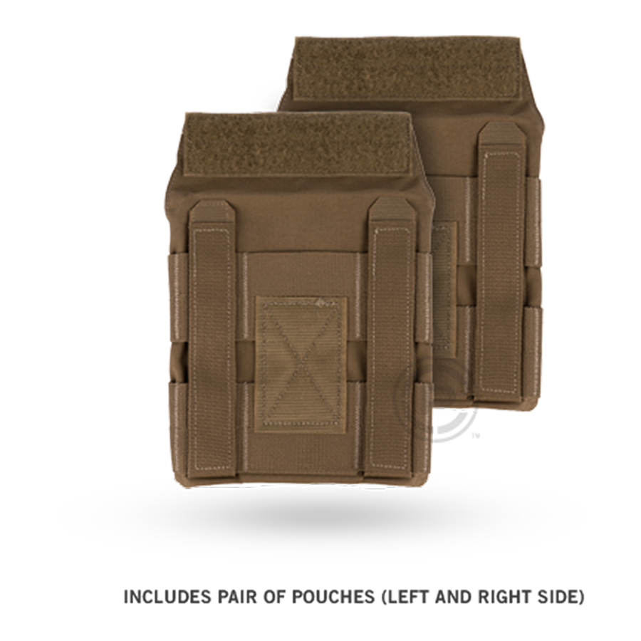 Crye JPC™ Side Plate Pouch Set coyote brown