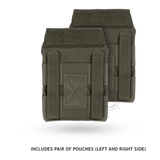 Crye JPC™ Side Plate Pouch Set ranger green