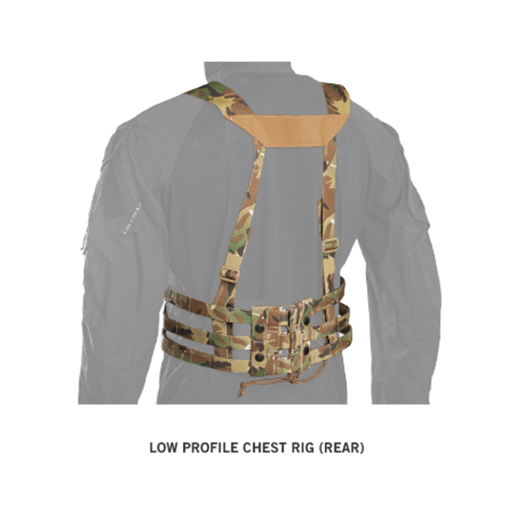 Crye Low Profile Chest Rig back