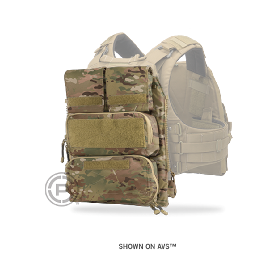 Panel, CRYE, Pouch Zip-On 2.0