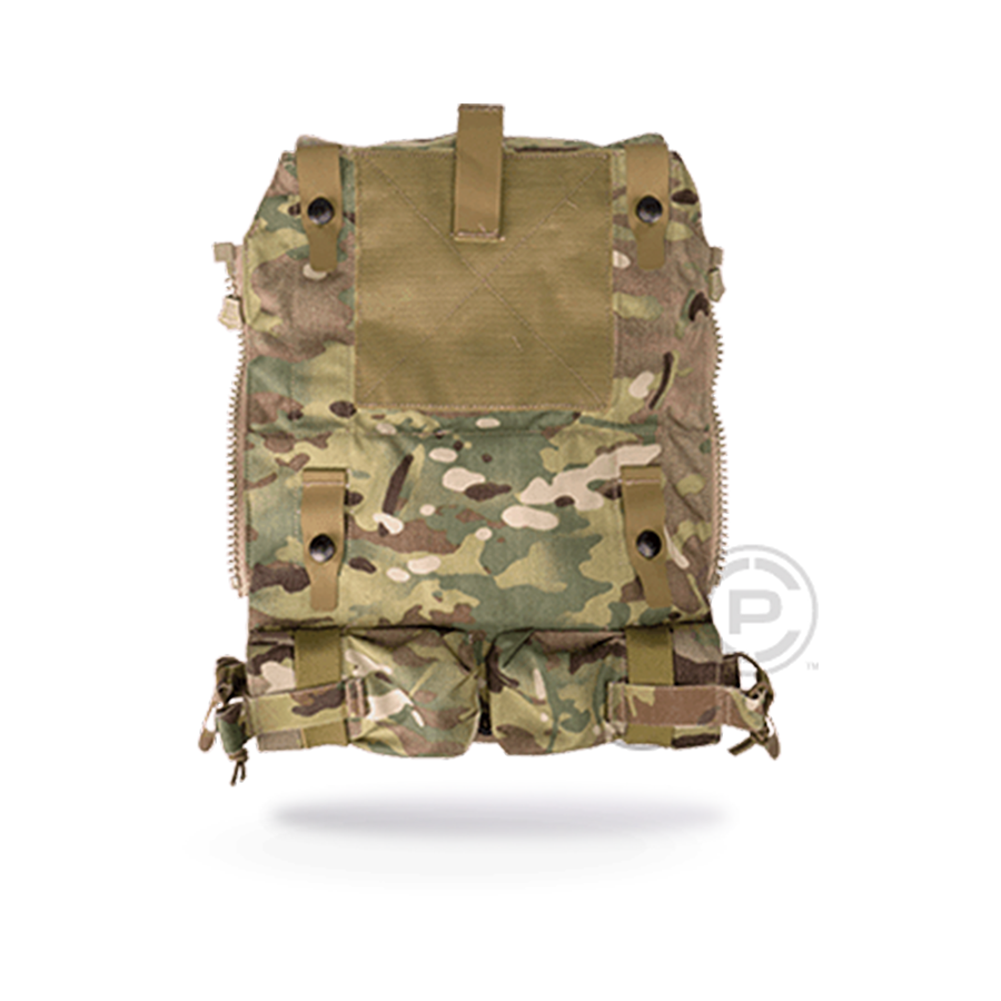 Panel, CRYE, Pouch Zip-On 2.0 closed