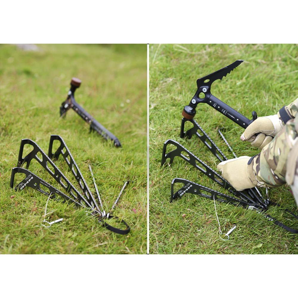 DMM™ Talon Ground Anchor in use 2