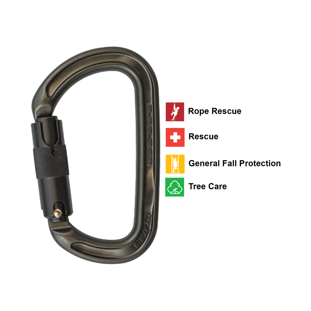 DMM® Ultra D Quicklock Carabiner use