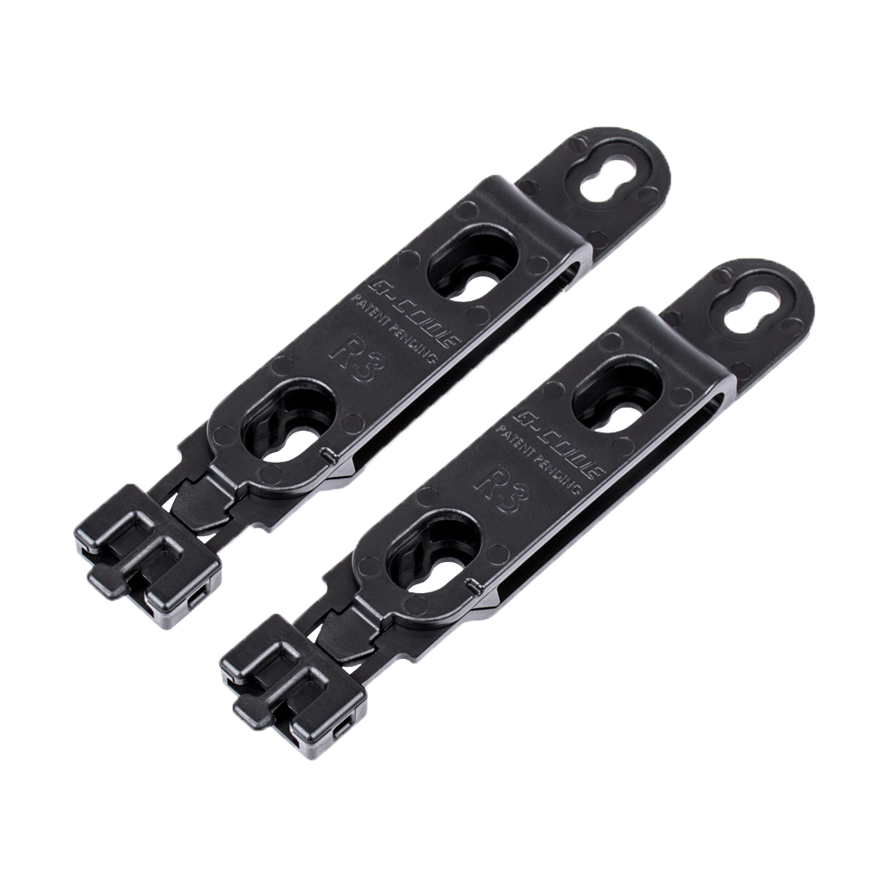 GCA47-R3 Misc. Belt Mounts (Pair), Black