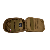 Operator IFAK Pouch coyote brown open