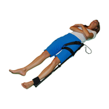 Slishman Traction Splint (STS) on leg