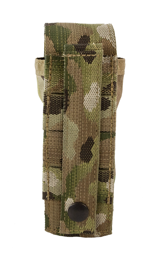 Tourniquet Pouch with Molle, Gen III - Snap Closure tab multicam back