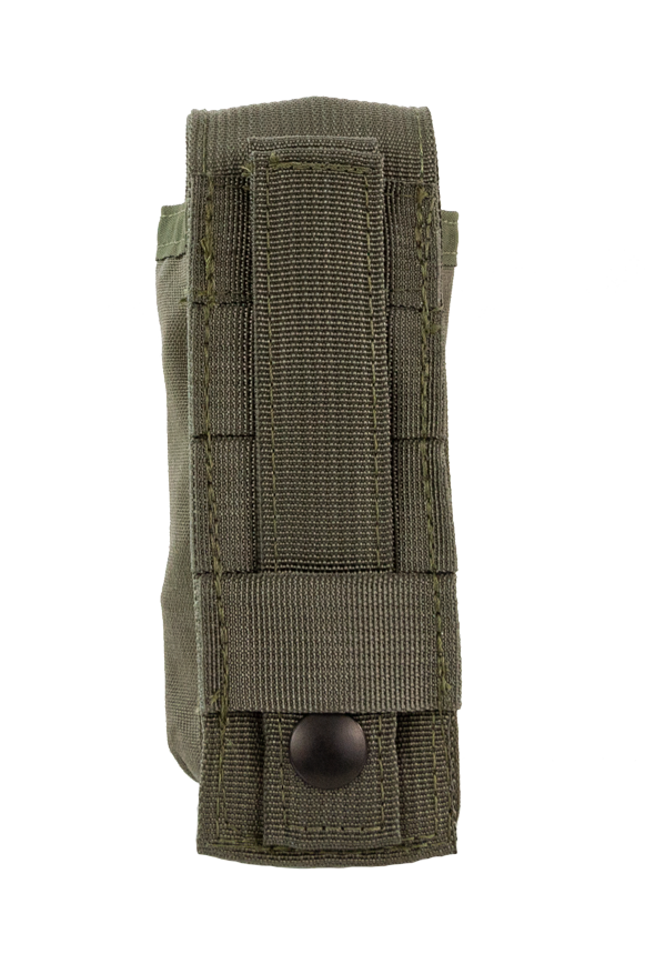 Tourniquet Pouch with Molle, Gen III - Snap Closure tab ranger green back