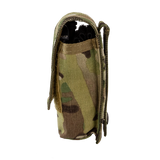 Tourniquet Pouch with Molle, Gen III - Snap Closure tab multicam left