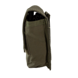 Tourniquet Pouch with Molle, Gen III - Snap Closure tab ranger green left