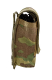 Tourniquet Pouch with Molle, Gen III - Snap Closure tab multicam right