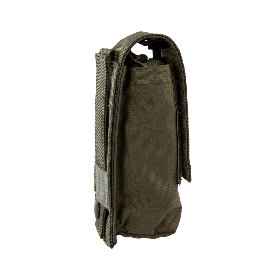Tourniquet Pouch with Molle, Gen III - Snap Closure tab ranger green right