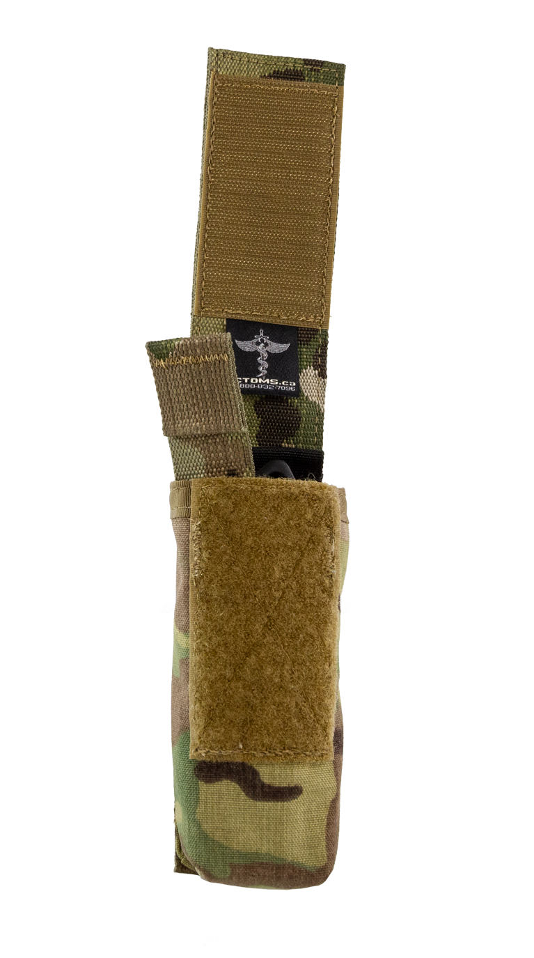 Tourniquet Pouch with Molle, Gen III - Snap Closure tab soft
