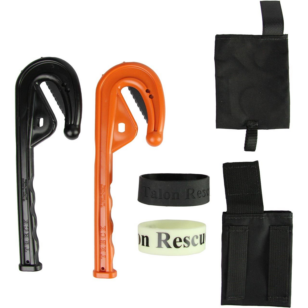 Knife, TRECK+ Talon Rescue Emergency Clothing Knife