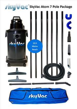 How to: Assemble and Operate your SkyVac Atom Gutter Cleaning System