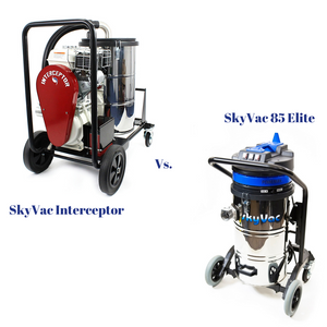 SkyVac 85 Elite and SkyVac Interceptor: What's the Difference?