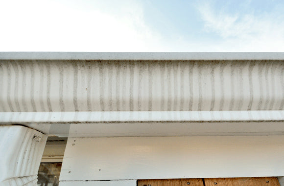 How to Remove Tiger Stripes from Gutters