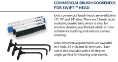 Ionic Systems Commercial Brush / Gooseneck For Swift™️ Brush Head