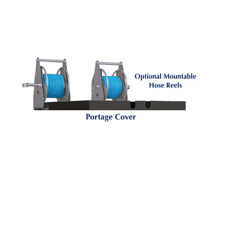 Optional Portage Cover and Hose Reels for Ionic 400L Size Portage