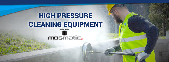 Clean Direct offers Mosmatic High Pressure Cleaning Equipment