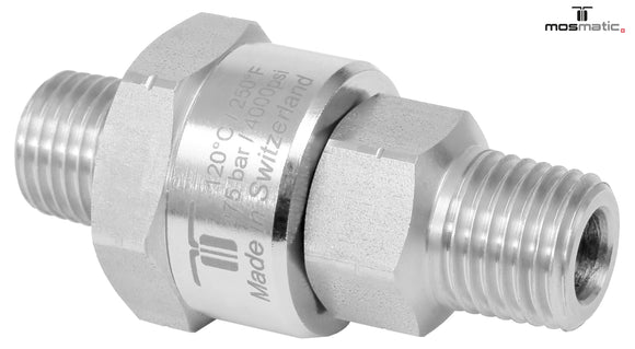 Mosmatic rotary unions DGK swivel single bearing compact G1 3/8