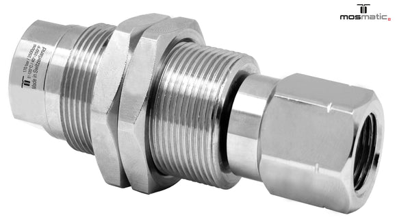 Mosmatic rotary unions DXGI swivel 90 degrees G1 1/4