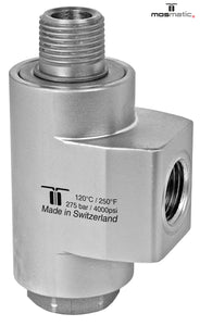"Mosmatic rotary unions WDBS swivel with radial ball bearings and protection plate NW 3/8"" 43.272"