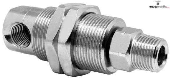 Mosmatic rotary unions DYGI swivel 90 degrees G1 1/4
