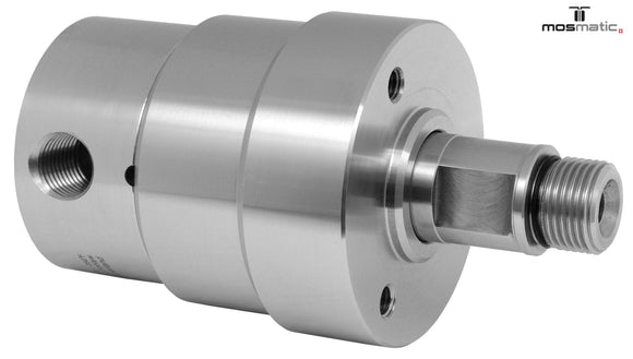 Mosmatic rotary unions DYT swivel 90 degrees G1 1/4