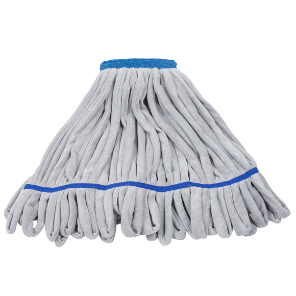 Unger SmartColor™ RoughMop String Mop Heavy Duty Blue