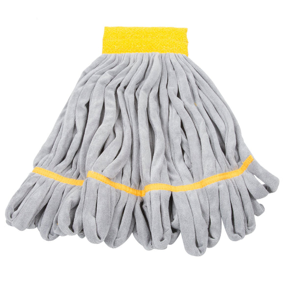 Unger SmartColor™ RoughMop String Mop Heavy Duty Yellow