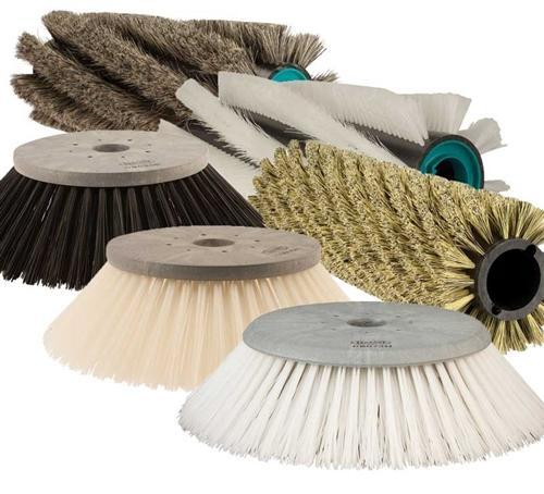 Main Brooms Fits TK500/510/512 PPL 60, 8 Row (White)