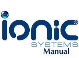 Ionic Systems User Manual - DI Caddy / Water Softener