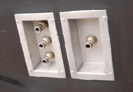 Ionic Systems Stainless Van Ports