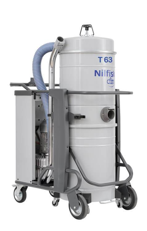 Nilfisk PNL Elec T63 - Industrial Vacuum Cleaner- 460V With Start and Stop - 4084101716