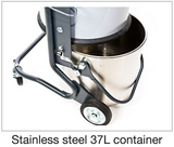 Stainless steel 37L Container