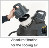 Absolute filtration for the cooling air