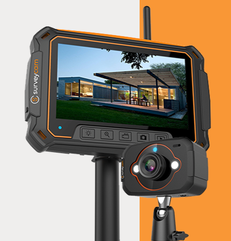 SurveyCam™️ Professional Video Camera for Professionals