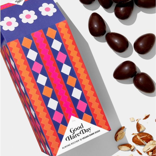 GOOD HARE DAY - LIMITED EDITION DARK CHOCOLATE ALMOND ROCHER EGGS