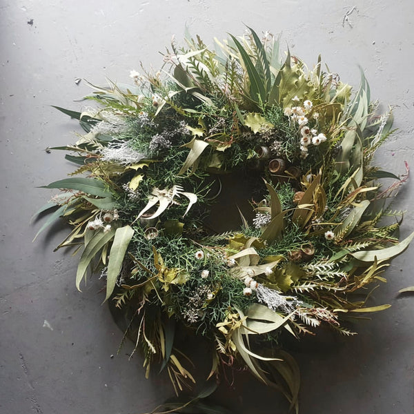 LUSH FOLIAGE WREATHS - For delivery/collection from 1st of December