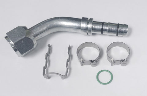 45 Degree Female EZ-Clip Hose Fittings