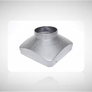 Straight Air Outlet Hood (75mm)
